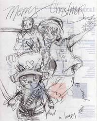 One Piece sketch by Rin-Uzuki