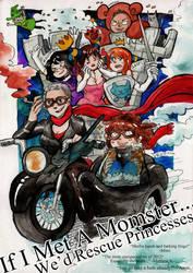 We'd Rescue Princesses by Rin-Uzuki
