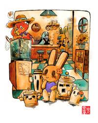 Animal Crossing: Hide and Seek by Rin-Uzuki