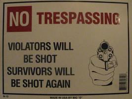 Warning Sign by BlazeTwoe