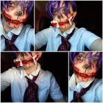 Withered Bonnie Cosplay by Lenzie02