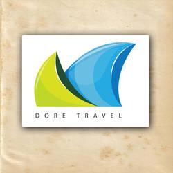 dore travel logo by mustafasoydan