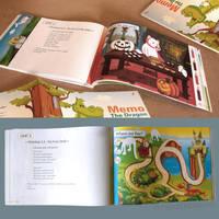 Memo the Dragon I - open Book by MichalPowalka