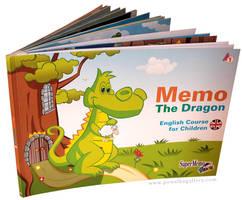 Memo the Dragon I - cover by MichalPowalka