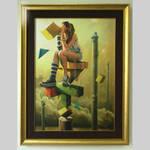 Pillars - GICLEE by MichalPowalka