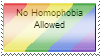 No homophobia here by Fae-Guts