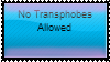 No transphobes here by Fae-Guts
