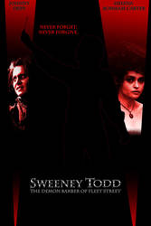 Sweeney Todd poster Ver 1 by SpikeWolfwood