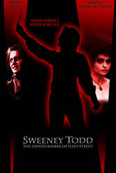 Sweeney Todd poster Ver 2 by SpikeWolfwood