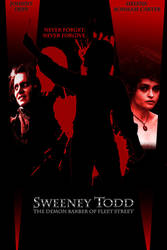 Sweeney Todd poster Ver 3 by SpikeWolfwood