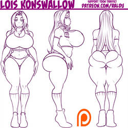 [PATREON] Lois Konswallow WIP by RalDu