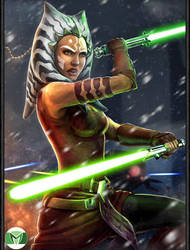 Ahsoka Tano (Clone Wars) by MaximusSupremo