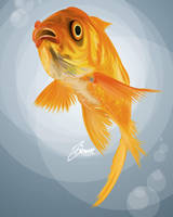 Goldfish by keyzpoof