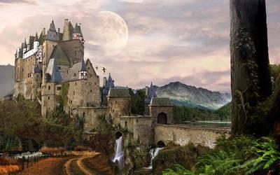 Castle by keyzpoof
