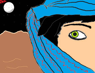 Desert Girl by zaindy87