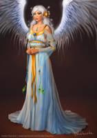 Vega-Seraphim Angel by EmiliaPaw5