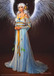 Vega-Seraphim Angel by EmiliaPaw5