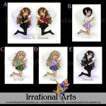 Kassnea print options by IrrationalArts