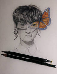 BTS: Jungkook - Butterfly by Spargels