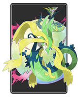 Commission - Mega Serperior by Cid-Fox