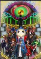 + Persona 4 Tribute + (Spoilers) by Lukael-Art