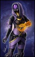 Mass Effect: Tali'Zorah nar Rayya by Lukael-Art