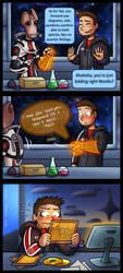 Mass Effect: Time to study by Lukael-Art