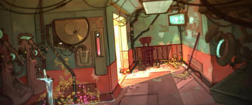 Restroom by stottt
