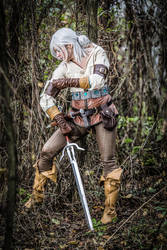 Witcher 3: Wild Hunt- Ciri cosplay by Koneko94