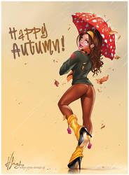 Autumn Babe by Elias-Chatzoudis