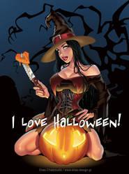I love Halloween by Elias-Chatzoudis