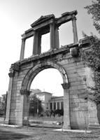 Arch of Hadrian by Elias-Chatzoudis