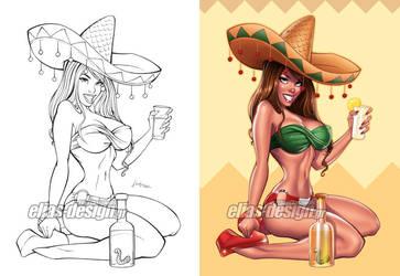 Tequila honey by Elias-Chatzoudis