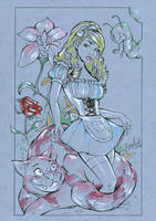 Alice in wonderland by Elias-Chatzoudis