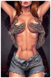 Zombie hands by Elias-Chatzoudis