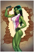 She-Hulk by Elias-Chatzoudis