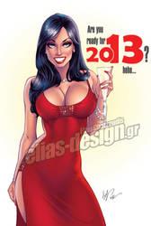 Happy 2013 by Elias-Chatzoudis