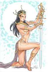 Dejah Thoris NYCC by Elias-Chatzoudis