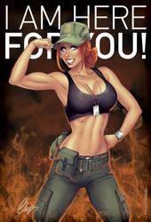 Army Girl by Elias-Chatzoudis