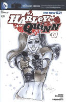 Harley Quinn - Blank cover by Elias-Chatzoudis