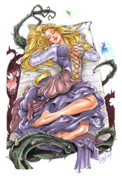 Sleeping Beauty by Elias-Chatzoudis