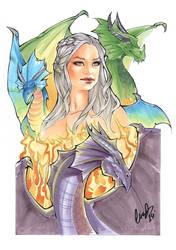 Daenerys Targaryen by Elias-Chatzoudis