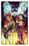 Gotham Villains by Elias-Chatzoudis
