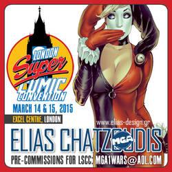 London Super Comic con 2015 by Elias-Chatzoudis