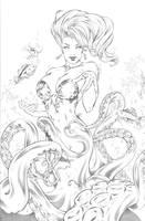 Sea Witch Pencils by Elias-Chatzoudis