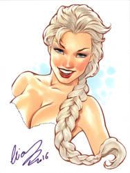 Queen Elsa by Elias-Chatzoudis