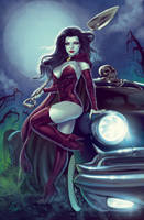 Witch with her Hearse by Elias-Chatzoudis