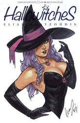 Witch on Hallowitches by Elias-Chatzoudis