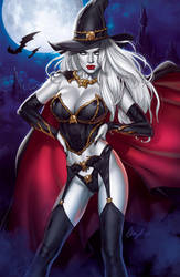 Lady Death Cover by Elias-Chatzoudis