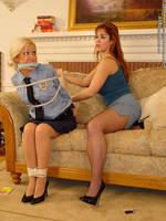 Policewoman Gagged by Daphneblake36